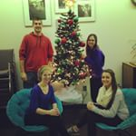 "Wittenberg Career Services ""family"" photo- Season's Greetings from all of us!"